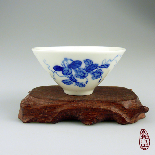 Handmade Teacups Series - Bougainvillea