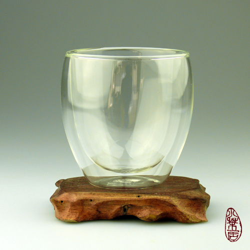 double-walled Glass Teacup 255