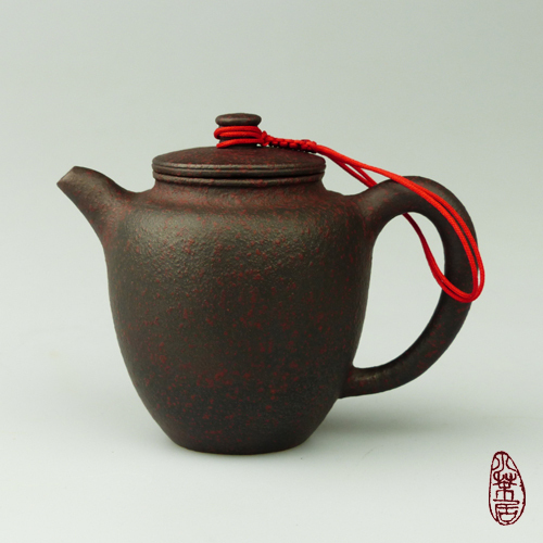 Ceramic Teapot Red-Brown #1