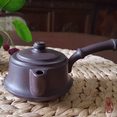 Zini Yixing Side-Handle Teapot (Handmade)